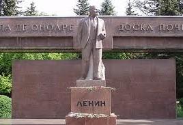 Sfada la monumentul lui Lenin. Comunistii s-au sfadit cu veteranii razboiului de pe nistru.