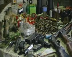 Arme si droguri descoperite la Soldanesti