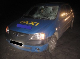 Un pieton a fost accidentat mortal in Chisinau