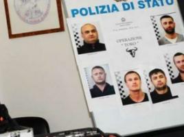 Şase moldoveni au fost arestaţi în Italia.