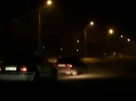 A pus poliția pe urmele sale, întrucît nu a vrut sa oprească la somație.