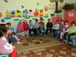 Copiii care frecventează o grădiniță din comuna Tohatin
