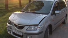 De blajini patru autoturisme s-au ciocnit la Ratuş în ambuteiajul creat.