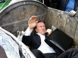Deputat ucrainean aruncat la gunoi