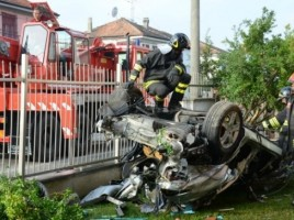 Doi moldoveni, morti intr-un cumplit accident produs in Italia.