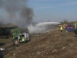 Accident feroviar cu 10 morti si 40 de raniti, la Ungheni. Victimele, transportate la spitalul din Iasi. Cum a decurs aplicatia salvatorilor