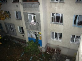 Autorităţile au început să reconstruiască blocul unde s-a produs explozia din Orhei