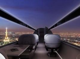 Avionul fara ferestre, proiectul care ar putea fi gata in 10 ani. Cercetatorii vor sa revolutioneze industria aeronautica