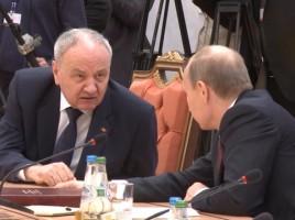 DEZVĂLUIRE! Nicolae Timofti a anunţat ce cuvinte i-a spus lui Vladimir Putin la summitul CSI