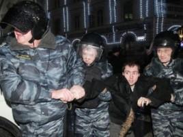 Protestatari reţinuţi la Moscova. Oamenii nu erau de acord cu politica lui Putin (VIDEO)