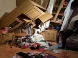 VIDEO. Sosele crapate, mobila distrusa, retele de curent si telefonie picate. Urmarile cutremurului de 5,7 pe scara Richter