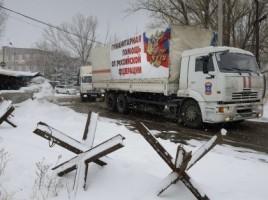Rusia trimite 60 de camioane cu ajutor umanitar in Transnistria.
