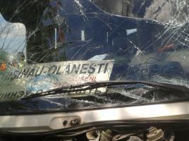 Accident ruta chisinau-olanesti, linga aeroport