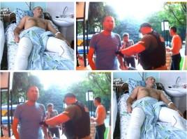 20 de zile de arest in izolatorul CNA pentru tanarul impuscat de un politist in timpul unui scandal la un karaoke din capitala
