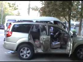 Grenade sonore şi fumigene, dar şi alte obiecte au fost descoperite în maşina soţiei lui Grigore Petrenco