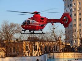 Accident rutier grav la Badragii vechi, Edinet.Un tânăr, transportat la spital cu elicopterul SMURD
