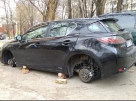 Astazi in sectorul Botanica s-au furat roti d ela masini de lux