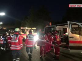 Un tanar afgan a atacat cu o arma alba mai multi pasageri intr-un tren din Germania.