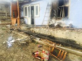 Incendiu cumplit la Lozova rn. Straseni