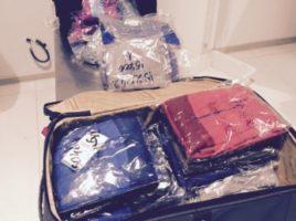 Contrabanda cu haine pentru copii la vama Palanca