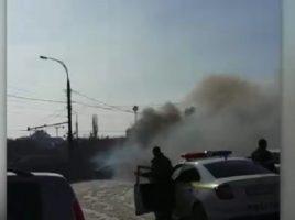 o maşină cu instalaţie GPL a ars in sec. Riscani, Chisinau