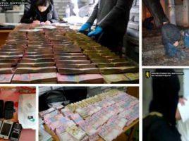 5 barbati din Moldova au furat din Odesa 2.000.000 de grivne, 2.400 de dolari și 650 euro.