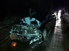 accident rutier grav in satul Colonita