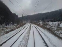 Un pasager din tren a observat cadavru unui barbat linga Ghidighici
