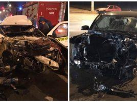 Video- accident teribil in Chisinau