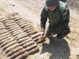 Geniştii Armatei Naţionale au lichidat 96 de obiecte explozive