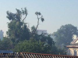 Chisinaul sub fum. Arde necontenit o gunoiste de la Ghidighici