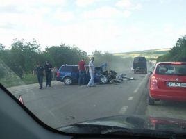 Accident grav la Gradiesti. 6 persoane internate in  spital