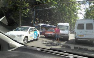 Accident rutier cu implicarea unei rute din Chisinau