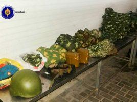 Contrabanda cu uniforme militare pentru Slovacia la vama Leuseni