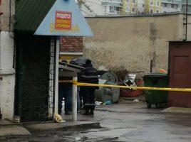 corpul unei femei a fost gasit intr-o geanta linga gunoi