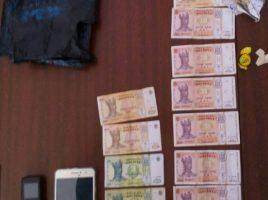 retinere- un comerciant de droguri in satul Fantinita, Drochia