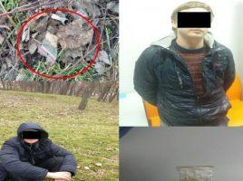 retinere in Chisinau- 2 tineri, consumatori de droguri